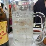 もつ焼き丸昌 - 中「キンミヤ」250円