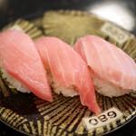 独楽寿司 - 料理写真:本鮪三点盛¥680