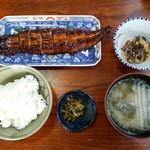 鯉の巣 - 料理写真:上うなぎ定食