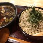 蕎麦屋 さけ処 六味庵 - 鴨南蛮