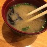 江戸屋 大将 - しじみのお味噌汁はサービス
