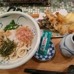 大地 - 料理写真:【2017/5】大地の恵み天(ぶっかけ)