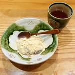 四季膳 ほしや - 特選ひるげご膳3,780円⑤温かいワラビ餅