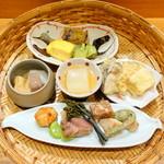 四季膳 ほしや - 特選ひるげご膳3,780円③メイン盛り