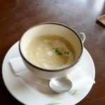 蓮 - キャベツと長芋のスープ
