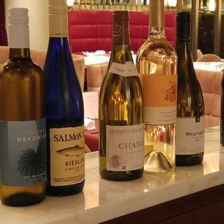 【ワイン】アメリカワインを主体にフランス、シリア、モロッコ等