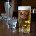 ろばた - 生ビールはキリン
