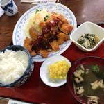 松の家 - 日替わり定食(とんかつ)
