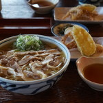 そば処東亭 - 冷たい肉中華