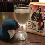 66694666 - 絶品の白ワイン♪