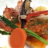 遊食庵にしのみや - 料理写真:魚と海老のグリル