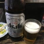 とり八 - 瓶ビール