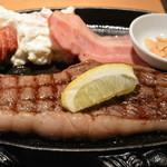 マルタケ - 2017/05 おすすめステーキ定食(2,500円)