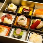 サンメンバーズ - 桂 (\5,400) ニの段 一口寿司