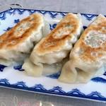 華陽麺坊 - 焼き餃子3個(¥330)