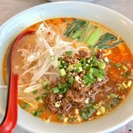 華陽麺坊 - ごまのスープ担々麺(¥850)