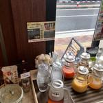 cafe rest montrose - 朝食バイキング(宿泊客\800) ドリンク