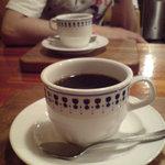 カナディアンロッキー - 食後のコーヒー