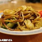 大河戸製麺 - 料理写真:おじさん作太麺焼きそば