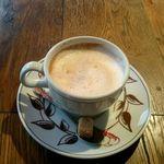 ホメラ テキサコ カフェ アンド テーブル - カプチーノ:530円外税