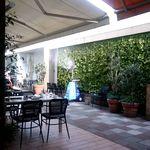 ホメラ テキサコ カフェ アンド テーブル - テラス席