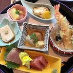 66701906 - 天ぷら、刺身も十分おいしい