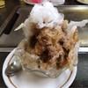 はとやお好み焼店 - 料理写真:コーヒーかき氷。