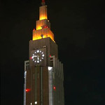 カフェラントマン - ドコモタワーのライトアップきれいに撮れなかったので〜写真共有サイトより