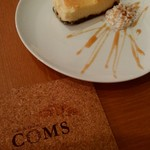 Cafe&Dinner COMS - デザートは200円プラスで♡チーズケーキ