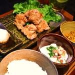 ondo - ランチ〈やんばる地鶏唐揚げ定食〉