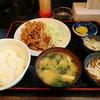 入船 - 料理写真:生姜焼き定食