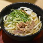 麺家大阪みどう - 肉うどん