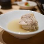 鼓次郎 - 水炊きの鶏肉