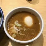 銀座 いし井 - つけ汁・2017/4
