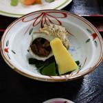 しおさい - サザエの醤油煮(味は無い)