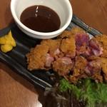 居酒屋 鴨と豚 とんぺら屋 - 鴨味噌カツ