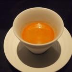 66711661 - 甘エビとオマール海老のスープ