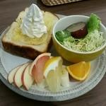 66711743 - レモンハニートースト
