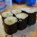 ことぶき寿司 - 強烈な涙巻き