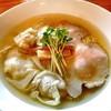 麺処 清水 - 料理写真:塩煮干ワンタンそば
