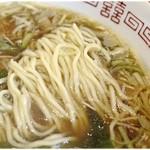 らーめん処 こたに - 軽い食感の麺で箸が進む進む。