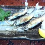 一平 - 稚鮎の塩焼き