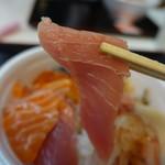 青森魚菜センター - 2017.05 中トロリフト、、ちょっぴり薄め?