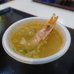 青森魚菜センター - 2017.05 海老汁もありました。