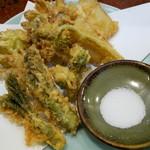 一平 - 山菜てんぷら