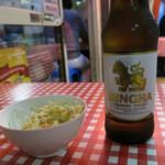 モンティー - シンハービール 600円
