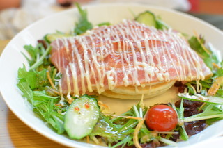 Cafe202 青森店 - お食事パンケーキ
