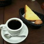 66716521 - 特製ブレンドコーヒーとモーニングサービス