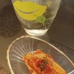 ヴィーコロ - ゴボウのトマトソース和え