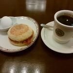 ビリオン珈琲 - 料理写真:「マフィンモーニング」
